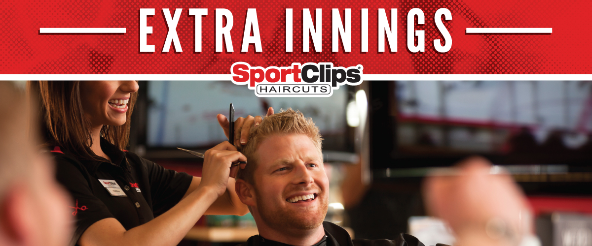 The Sport Clips Haircuts of Woodstock - US 14 Extra Innings Offerings